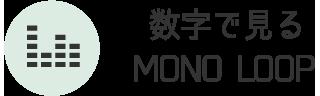 数字で見るMONO LOOP(モノ・ループ)