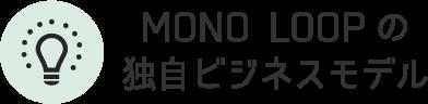 MONO LOOP(モノ・ループ) の独自ビジネスモデル
