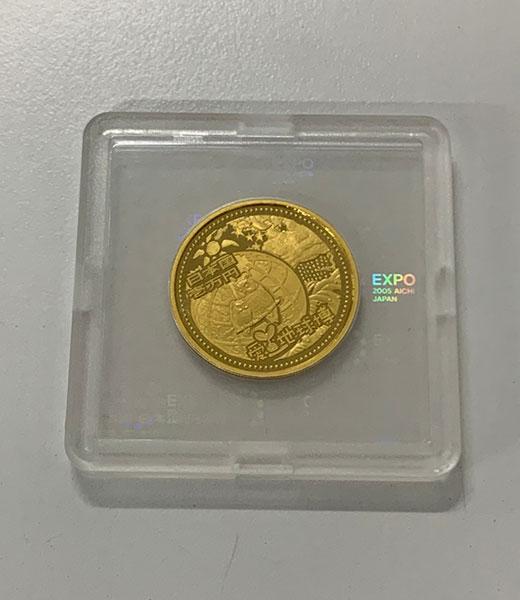 日本国際博覧会記念 1万円金貨