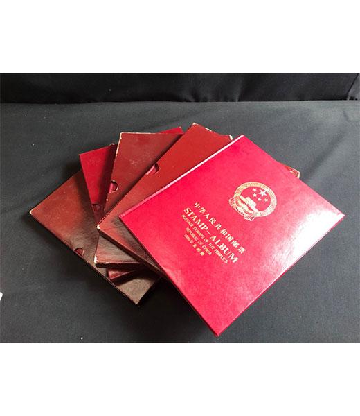 中国切手(消印付き)コレクション品