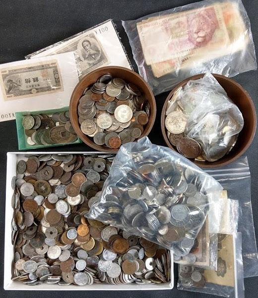 日本古銭・外国銭